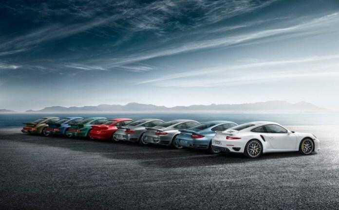 Porsche 911 Turbo Generations (8)