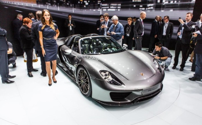 Porsche 918 Spyder Live in Frankfurt Motor Show 2013 (6)