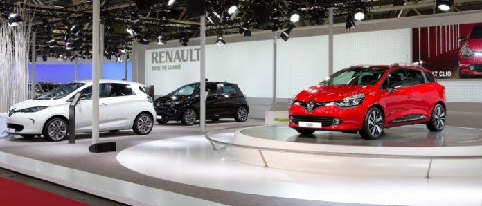 Renault New Clio and Renault ZOE