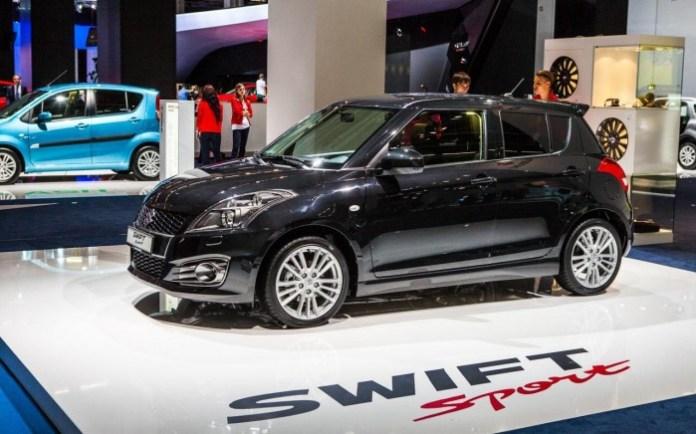 Suzuki Swift Facelift 2013 Live in Frankfurt 2013 (1)