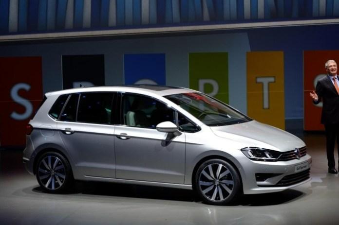 Volkswagen Golf Sportsvan Frankfurt Motor Show