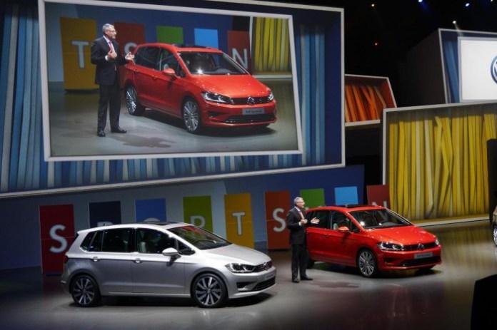 Volkswagen Golf Sportsvan concept live in Frankfurt 2013 (3)