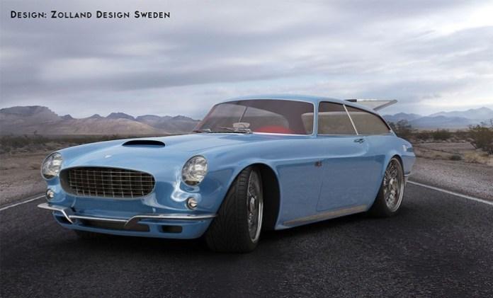 Volvo P1800 ZES Concept Study (8)