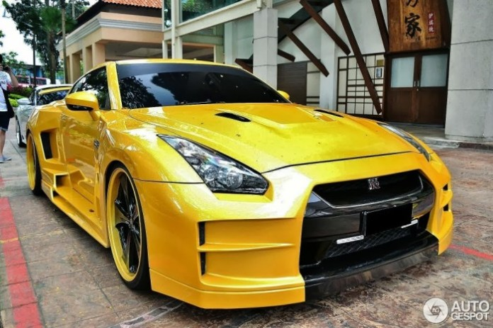 Yellon Nissan GT-R Widebody (9)