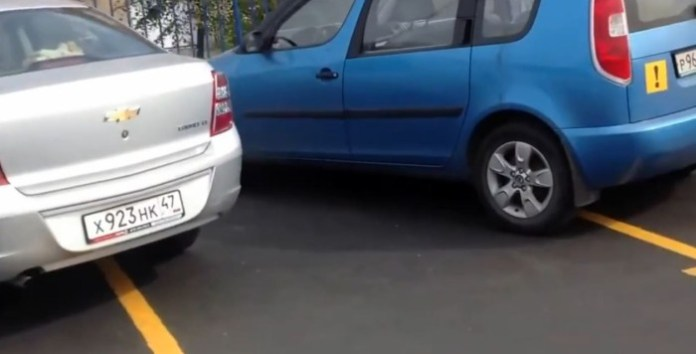 russia parking