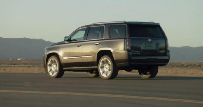 2015 Cadillac Escalade leaked photo
