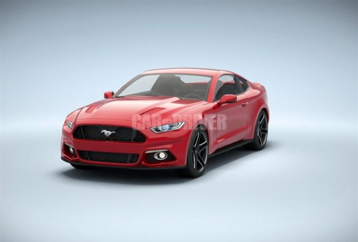 2015 Ford Mustang 3D Rendering (12)