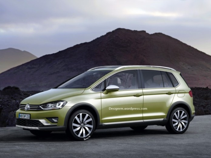 VW Cross Golf [Renderings]