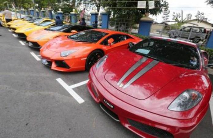 Malaisyan tax seized cars