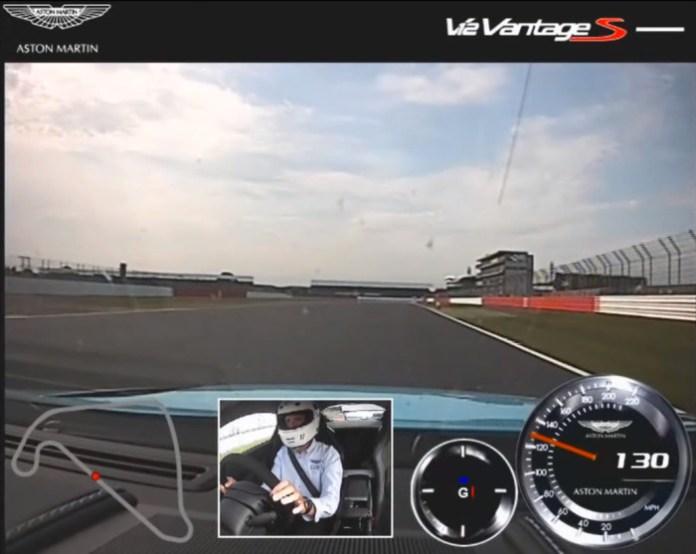 Aston Martin V12 Vantage S - Silverstone - Exclusive In-Car Footage