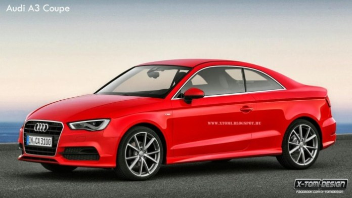 Audi A3 Coupe rendering