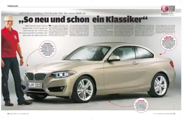 BMW 2-Series Coupe leaked (1)