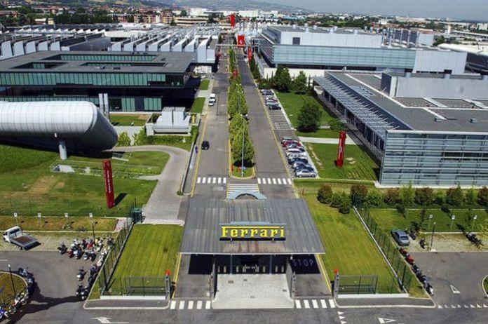 Ferrari-Plant-Entrance1