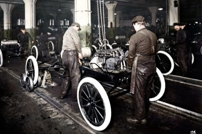 Ford Celebrates 100th Anniversary of Henry Ford Moving Assembly Line (1)