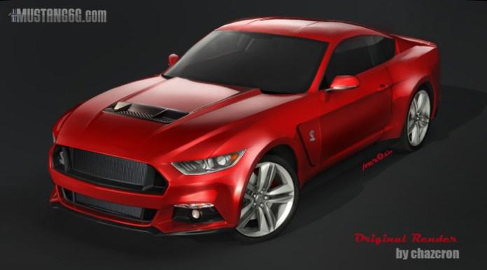 Ford Mustang 2015 Renderings