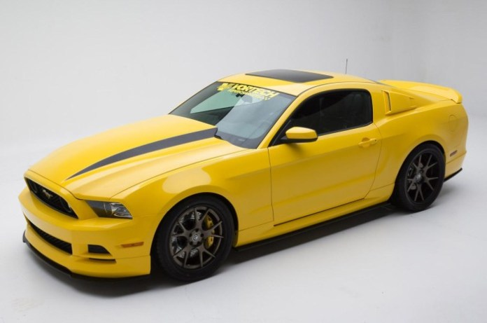 Ford Mustang Yellow Jacket by Vortech (1)