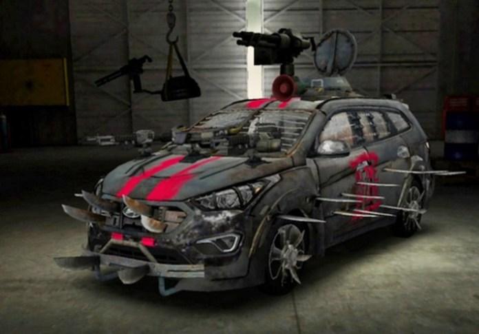 Hyundai Santa Fe Zombie Survival Machine (1)
