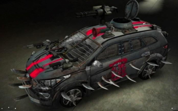 Hyundai Santa Fe Zombie Survival Machine (3)