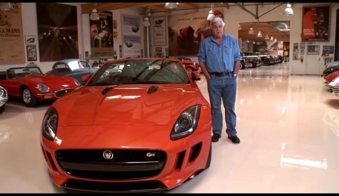 Jay Lenos Garage Jaguar F-Type