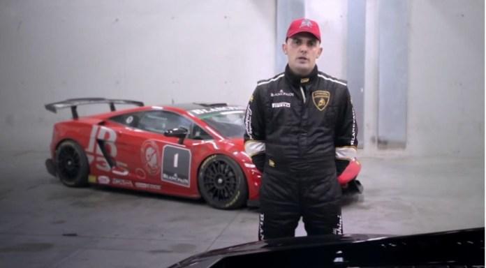 Lamborghini test driver