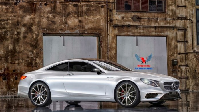 Mercedes-Benz S63 AMG Coupe rendering (2)