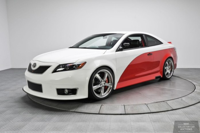 Toyota Camry NASCAR Edition and Lexus LFA Nurburgring Edition for auction (1)