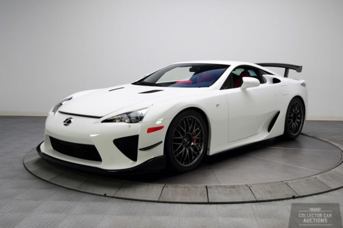Toyota Camry NASCAR Edition and Lexus LFA Nurburgring Edition for auction (5)