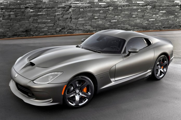2014 SRT Viper GTS Anodized Carbon Special Edition Package