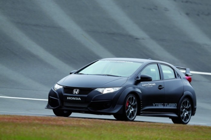 2015 Honda Civic Type-R prototype 6