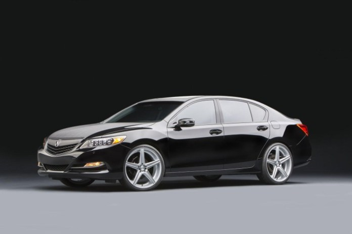 Acura RLX Urban Luxury Sedan concept