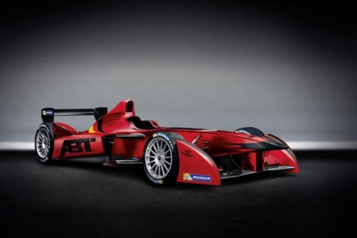 ABT Sportsline Formula E car
