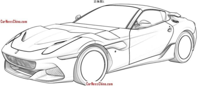Ferrari SP Arya patent sketches (1)