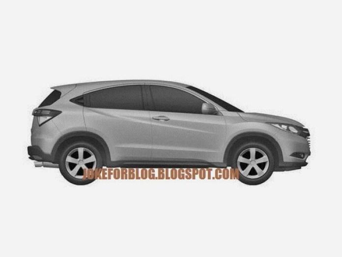 Honda Urban SUV Patent Images (2)