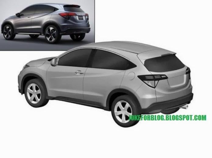 Honda Urban SUV Patent Images (4)