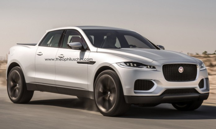 Jaguar C-X17 Pickup (2)
