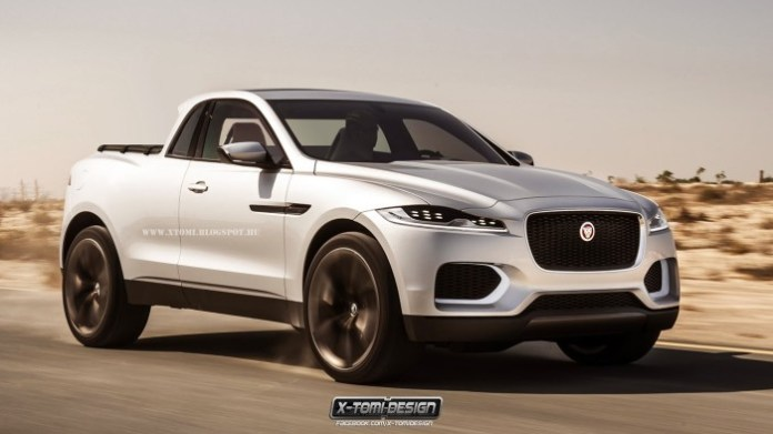 Jaguar C-X17 pickup