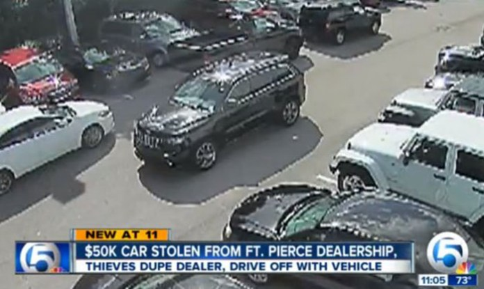Jeep Grand Cherokee Stolen
