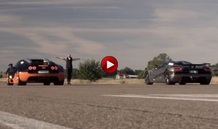 Koenigsegg Agera R Vs Bugatti Veyron Vitesse