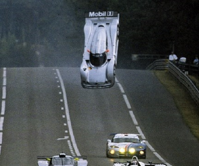 Mark webber-Le Mans 1999-CLR flip2