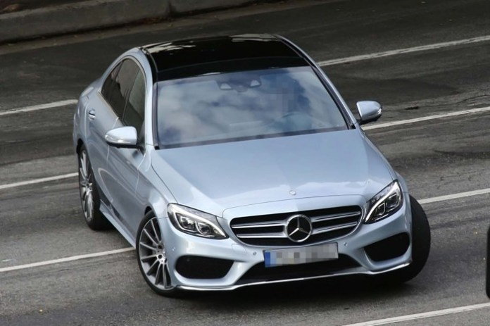 Mercedes-Benz C-Class Spy Photos 2014 (3)