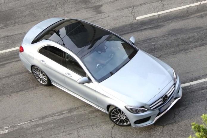 Mercedes-Benz C-Class Spy Photos 2014 (8)