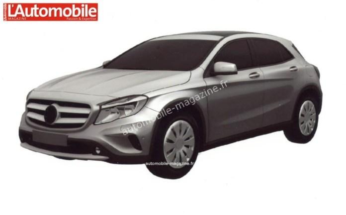 Mercedes-Benz GLA 180 CDI patent photos (1)