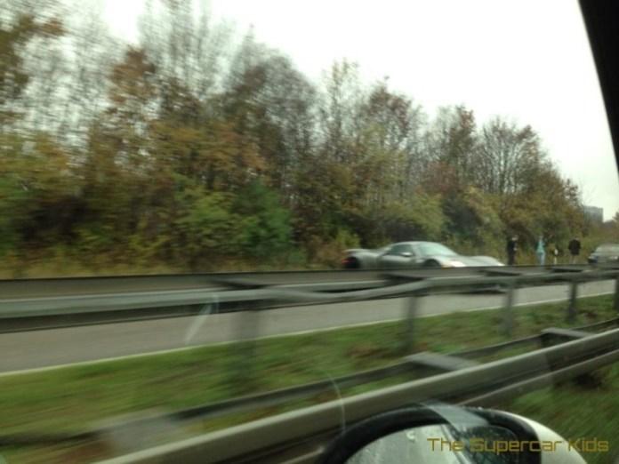 Porsche 918 accident 1