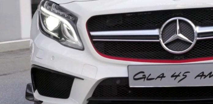Teaser Video Mercedes GLA 45 AMG Concept