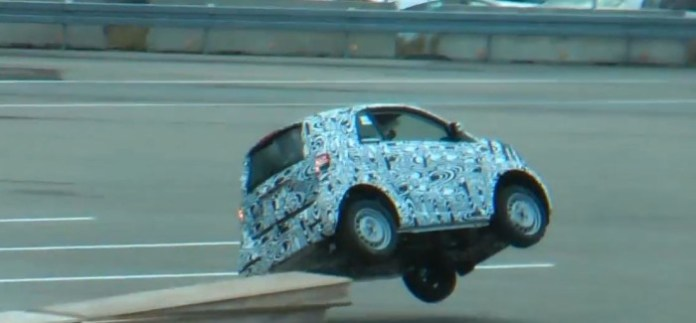 smart fortwo testing