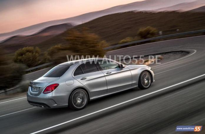 2014 Mercedes C-Class leaked picture (2)
