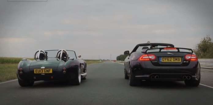AC Cobra replica vs jaguar xkr-s
