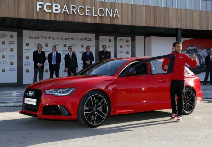 Audi for Barcelona players (9)