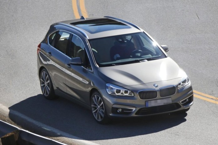 BMW 2-Series Active Tourer 2014 Spy Photos (1)