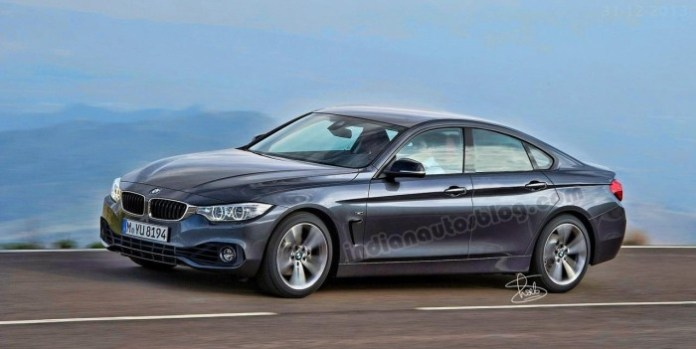 BMW 4-Series GranCoupe rendering (1)